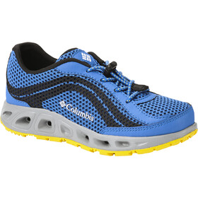 Columbia Drainmaker IV Shoes Børn, stormy blue/deep yellow